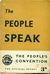 The people speak, The people's convention the official report