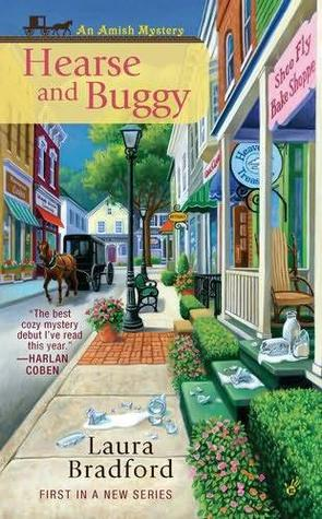 Hearse and Buggy by Laura Bradford