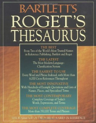Bartlett's Roget's Thesaurus by Bartlett's