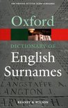 Oxford Dictionary of English Surnames