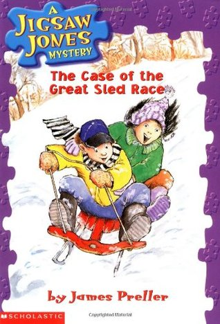 The Case of the Great Sled Race (Jigsaw Jones, #8)