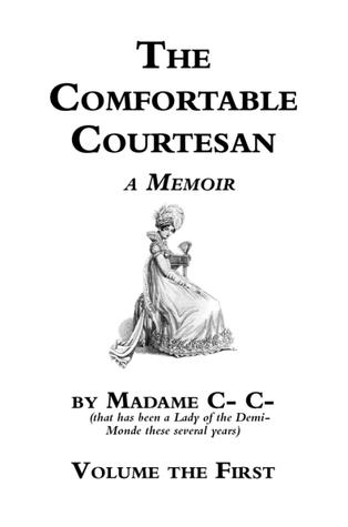 Book cover with pale woman in early 19th clothing and a feathery hat