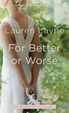 For Better or Worse (The Wedding Belles, #2)
