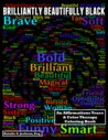 Brilliantly Beautifully Black: An Affirmations Trace & Color Therapy Coloring Book