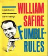 Fumblerules: A Lighthearted Guide to Grammar and Good Usage
