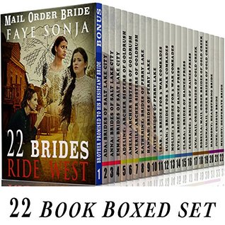 mail order bride book series Written by caroline fyffe, narrated by lara asmundson download the app and start listening to mail-order brides of the west: evie: mccutcheon family series, book 3 today - free with a 30.