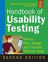 Handbook of Usability Testing: How to Plan, Design and Conduct Effective Tests
