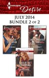 Harlequin Desire July 2014 - Bundle 2 of 2: Lured by the Rich Rancher / A Taste of Temptation / When Opposites Attract...