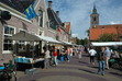 Annual book market in the picturesque village centre of De Rijp (Noord-Holland) in the Netherlands.