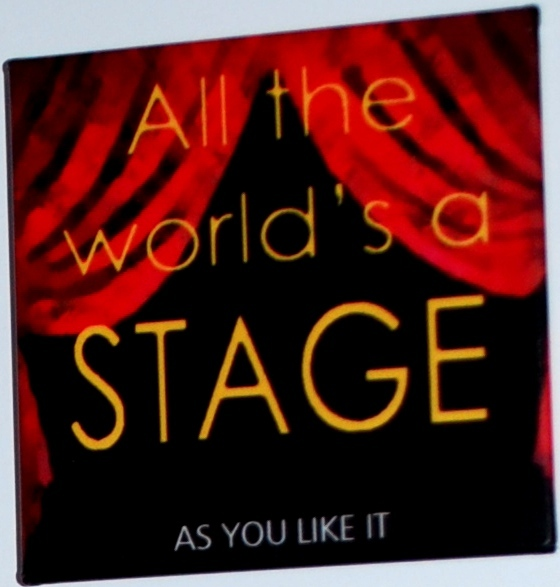 all the worlds a stage by william shakespeare essay All the world's a stage  and essay topics this one  with stealing purses from the audience at the theatre playhouse where william shakespeare happens to be.