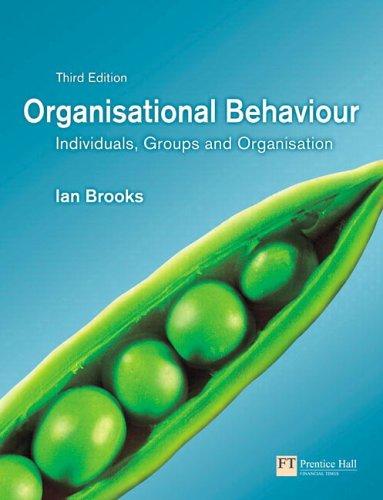 Organisational Behaviour: Individuals, Groups And ...
