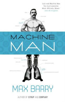 Machine Man by Max Barry thumbnail