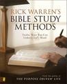 Rick Warren's Bible Study Methods: Rick Warren ...