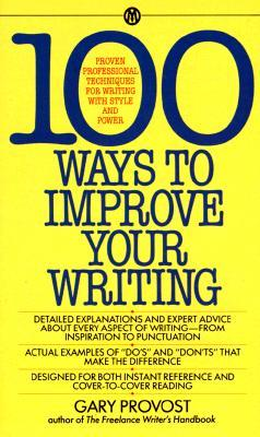 ways to write a better book