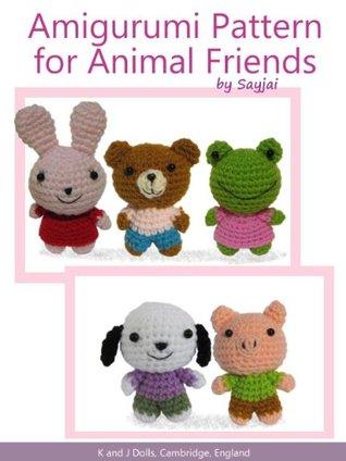 Enlarging Amigurumi Patterns : Amigurumi Pattern for Animal Friends by Sayjai Reviews ...