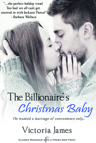 {Review} The Billionaire's Christmas Baby by Victoria James