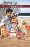 Triple the Fun (Kings of California, #16; Billionaires and Babies, #57)