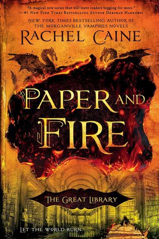 Book Review: Paper and Fire by Rachel Caine