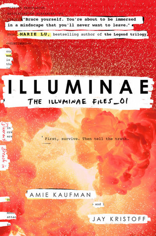 Image result for illuminae cover goodreads