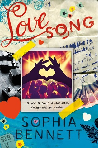 Review: 4 stars to Love Song by Sophia Bennett #YA #BoyBands #Funny