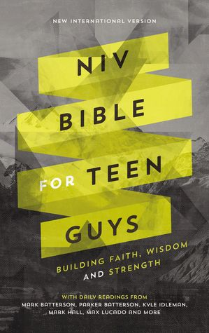 NIV Bible for Teen Guys, Hardcover: Building Faith, Wisdom and Strength