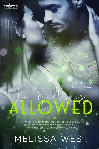 {Review} No Falling Allowed by Melissa West