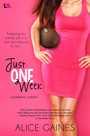 Quickie #Review: JUST ONE WEEK by Alice Gaines @entangledpub #ContemporaryRomance