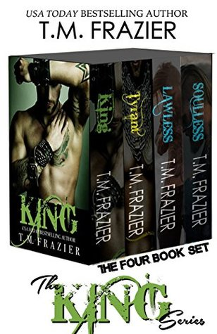 KING SERIES BUNDLE The Four Book Set by T.M. Frazier
