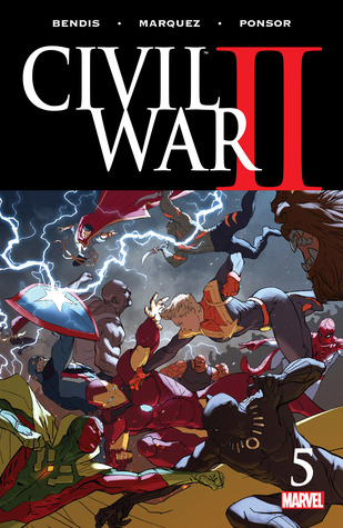 cover Civil War II 5